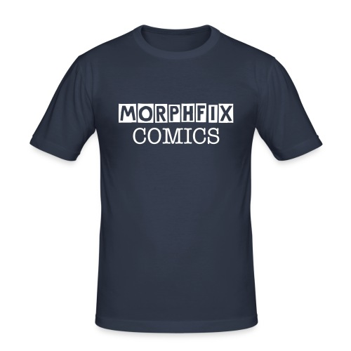MORPHFIX COMICS T - Men's Slim Fit T-Shirt
