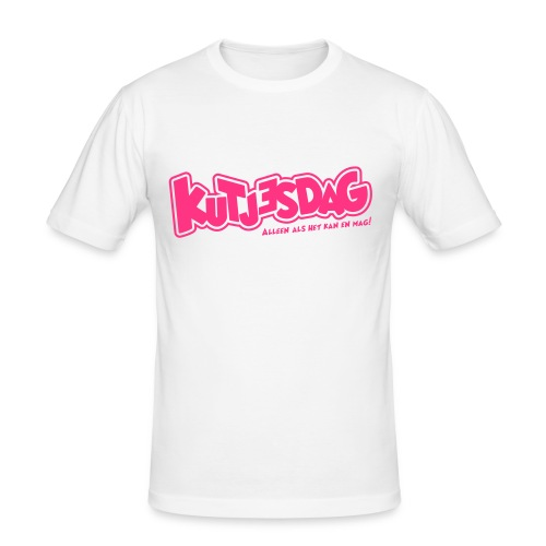Kutjesdag - slim fit T-shirt