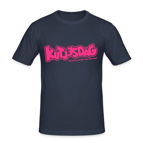 Kutjesdag - slim fit T-shirt