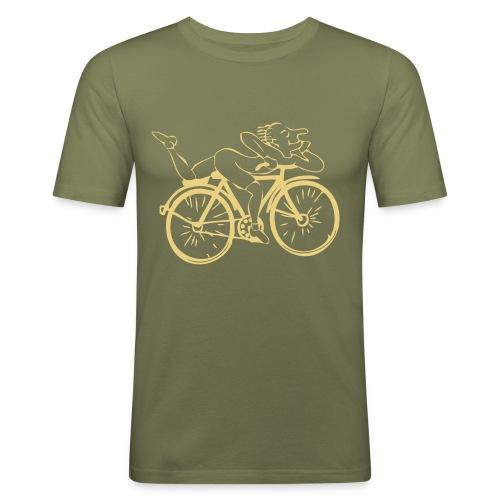 Albert Hofmann - Männer Slim Fit T-Shirt