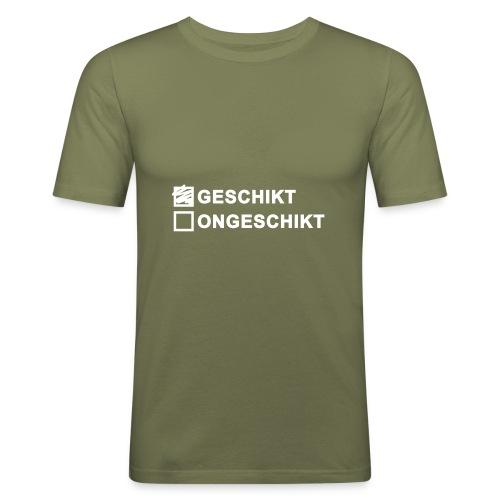 Geschikt - heren slim fit - slim fit T-shirt