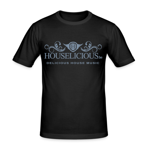 Houselicious Silver Print Slim Fit - slim fit T-shirt