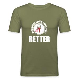 Retterhemd Sven - Männer Slim Fit T-Shirt