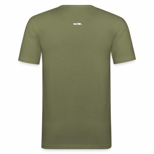 LEEDS FANS DEAN COURT 89-90 - Men's Slim Fit T-Shirt