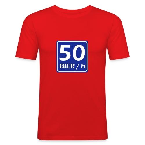 50 Bier Per Uur - slim fit T-shirt