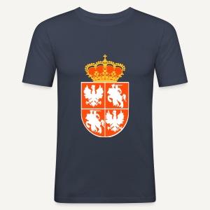 Herb Rzeczpospolitej Obojga Narodów - Obcisła koszulka męska