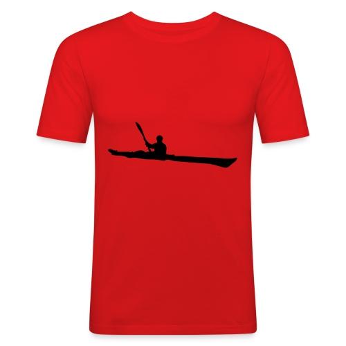 Seekajak T-Shirt - Männer Slim Fit T-Shirt
