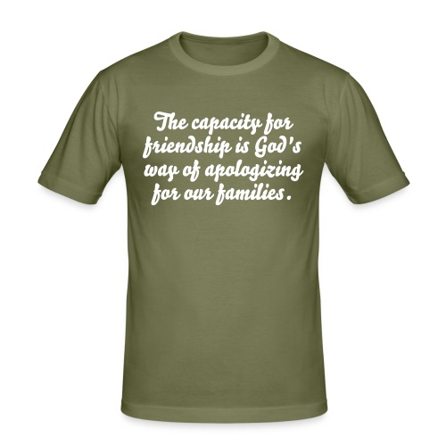 Friendship - Men's Slim Fit T-Shirt