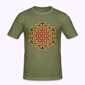 Flower of Live 1 UV-Active Slim-fit - slim fit T-shirt