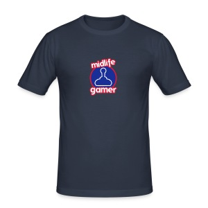 Midlife Gamer - Logo - Men's Slim Fit T-Shirt
