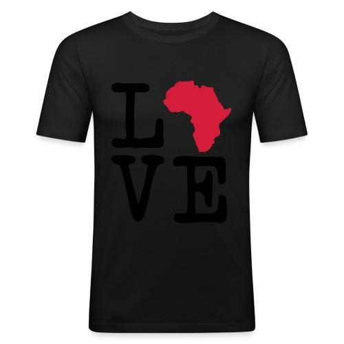 I Love Africa, I Heart Africa - Men's Slim Fit T-Shirt