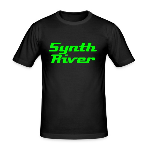 SynthRiver Deluxe(Herren/Men) - Männer Slim Fit T-Shirt