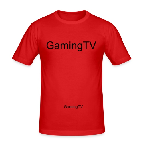 GamingTV (orginal) - Slim Fit T-shirt herr