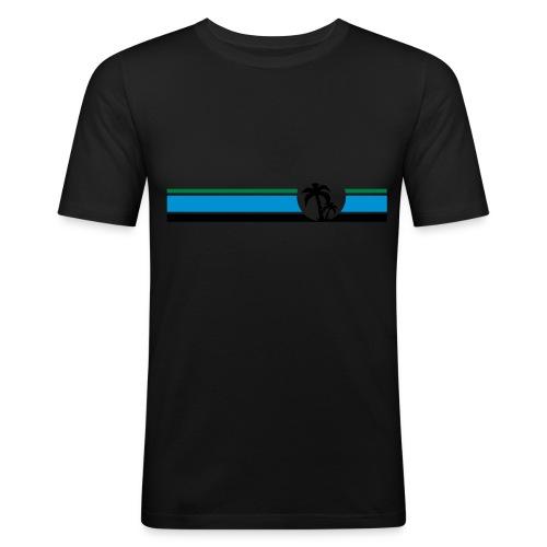 LAGUNA - Männer Slim Fit T-Shirt