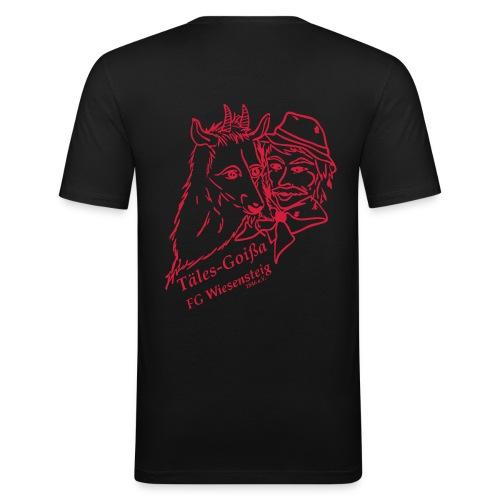 Männer T-Shirt Slim Fit - Männer Slim Fit T-Shirt