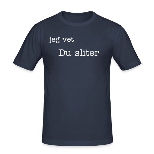 Slim Fit T-skjorte for menn