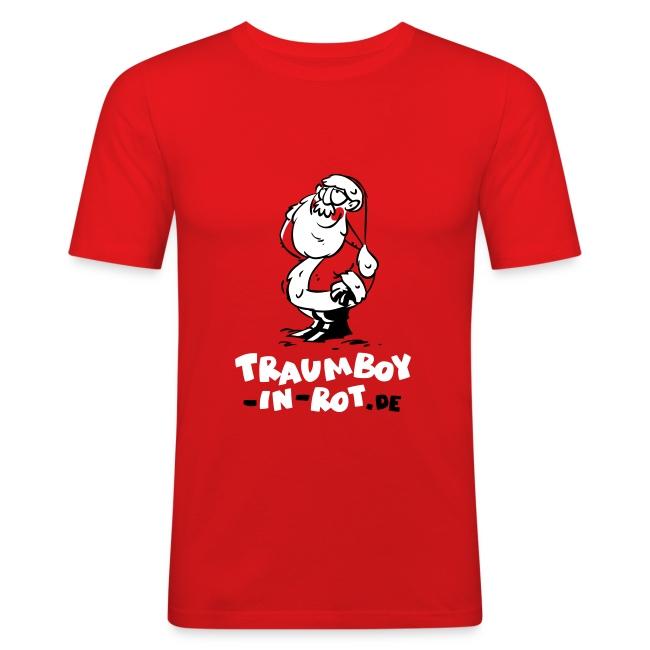 """Männer-Fitness-Shirt """"Traumboy-in-rot.de"""""""