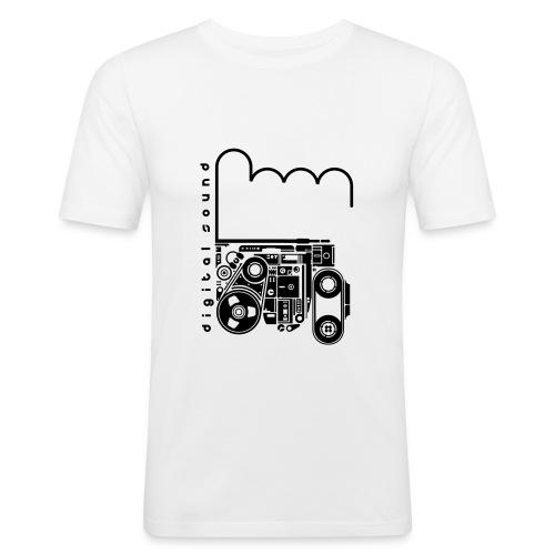 Digital Sound - T-shirt près du corps Homme