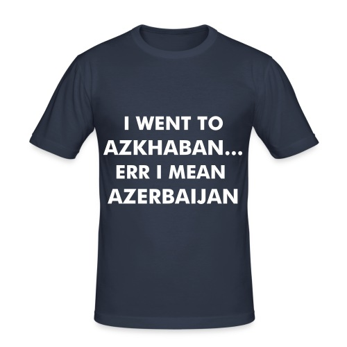 'I went to Azkhaban...'  Tshirt - Men's Slim Fit T-Shirt
