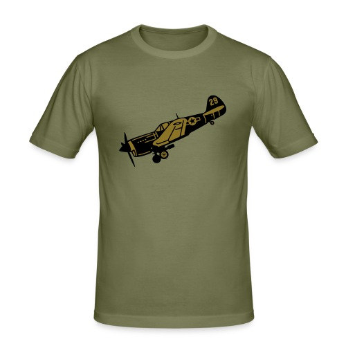 Air Battle - Männer Slim Fit T-Shirt