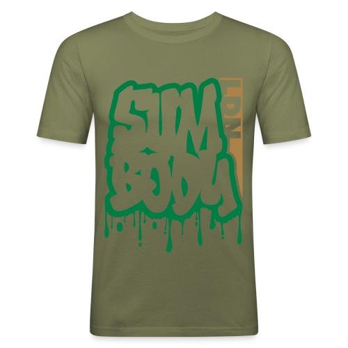 SumGraf LDN Camo - Men's Slim Fit T-Shirt