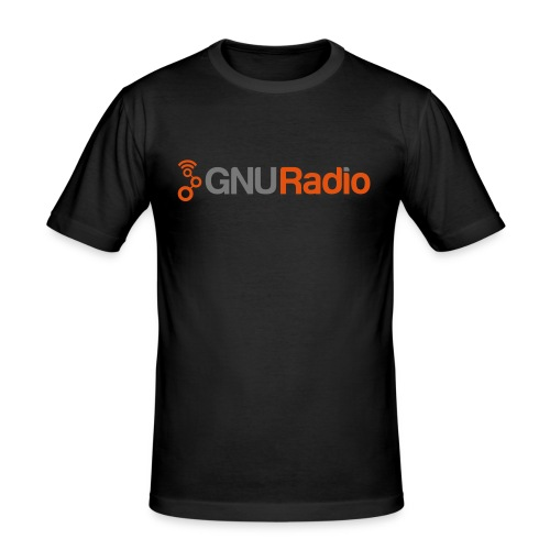 GNU Radio T-Shirt (Slim Fit) - Männer Slim Fit T-Shirt