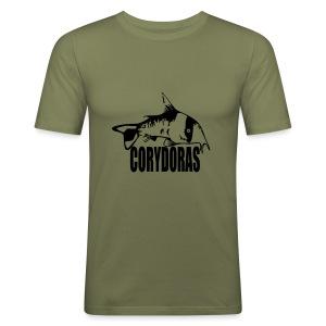 Corydoras t-skjorte for gutter - Slim Fit T-skjorte for menn