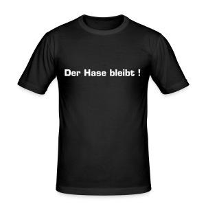 Superspendenshirt - Männer Slim Fit T-Shirt