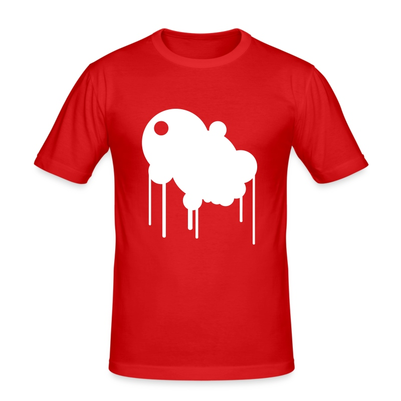 Bubble design - Men's Slim Fit T-Shirt