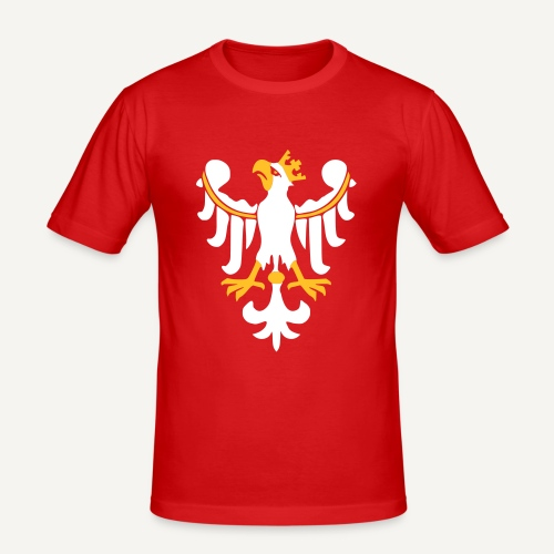 Orzeł piastowski - Obcisła koszulka męska