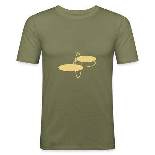 T-Shirt Bulbs - Männer Slim Fit T-Shirt
