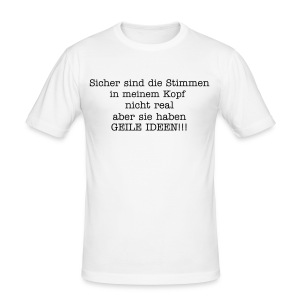 Blähungen - Männer Slim Fit T-Shirt