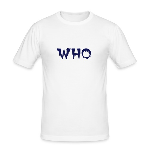 Who - Herre Slim Fit T-Shirt
