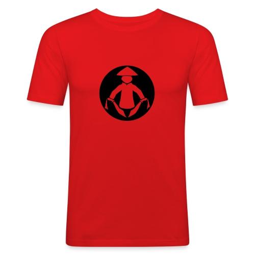 Kung Wu Man - Men's Slim Fit T-Shirt