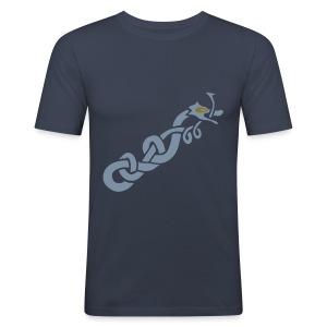 Norse Dragon - Men's Slim Fit T-Shirt