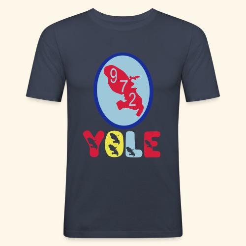 T-Shirt yoles Martinique 972 - Tee shirt près du corps Homme