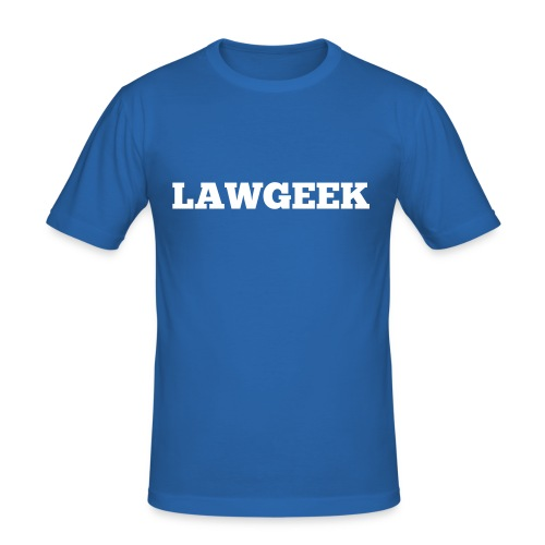 Lawgeek - Men's Slim Fit T-Shirt