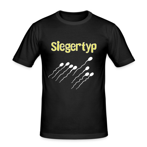 Siegertyp - Männer Slim Fit T-Shirt