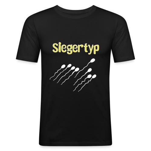 Siegertyp - Männer Slim Fit T-Shirt
