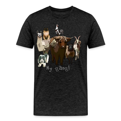 Animal Gang 2 - Männer Premium T-Shirt