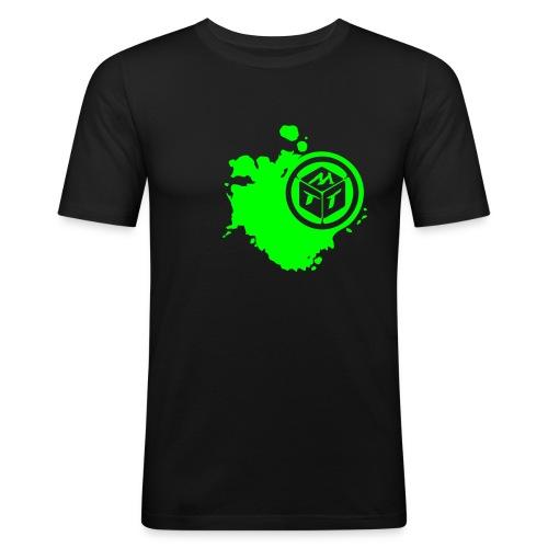 Magabotato Logo   Slim fit - Männer Slim Fit T-Shirt