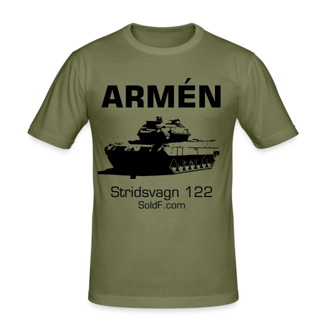 ARMÉN Stridsvagn 122 Slim Fit