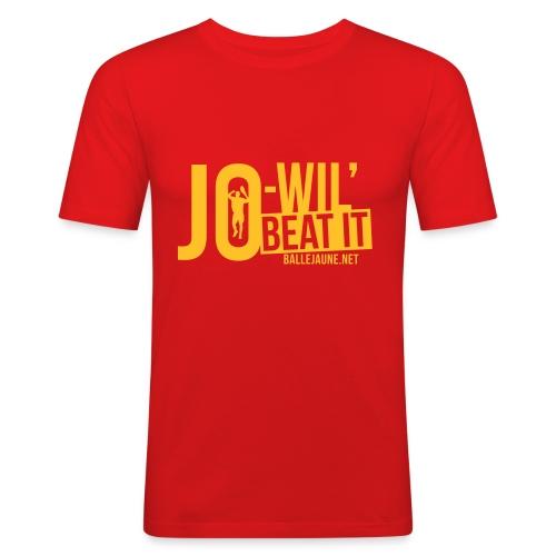 Jo-Wil' Tsonga Beat it T-shirt (flex1c) - T-shirt près du corps Homme