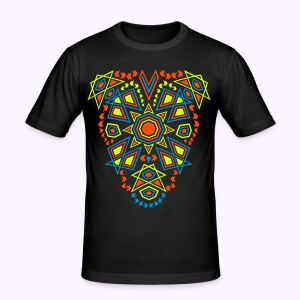 Tribal Sun UV-Active Front - Slim Fit - slim fit T-shirt