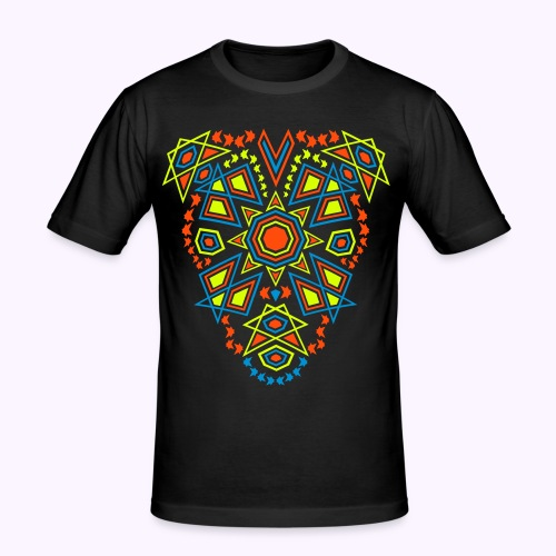 Tribal Sun UV-Active Front - Slim Fit - Men's Slim Fit T-Shirt