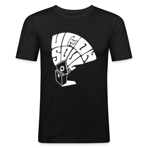 Boys / Upon My Soul - White Logo - Men's Slim Fit T-Shirt