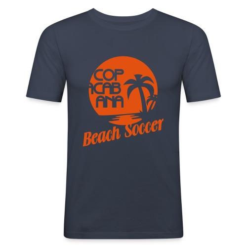 BEACH SOCCER - Männer Slim Fit T-Shirt