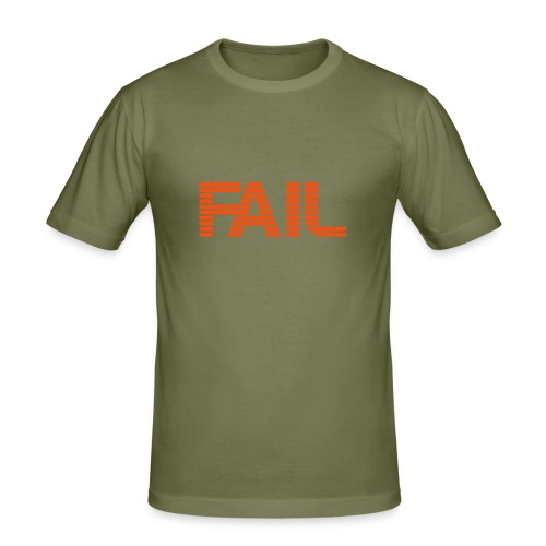 Simply FAIL - Männer Slim Fit T-Shirt