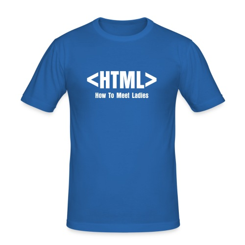 HTML: How To Make Love - T-shirt près du corps Homme