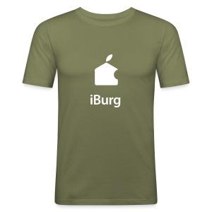 Heren Slim Fit T-shirt - slim fit T-shirt
